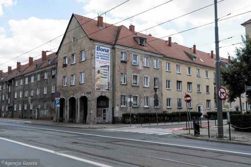 Plan na Poznań Weststadt Posen Dąbrowskiego Długosza