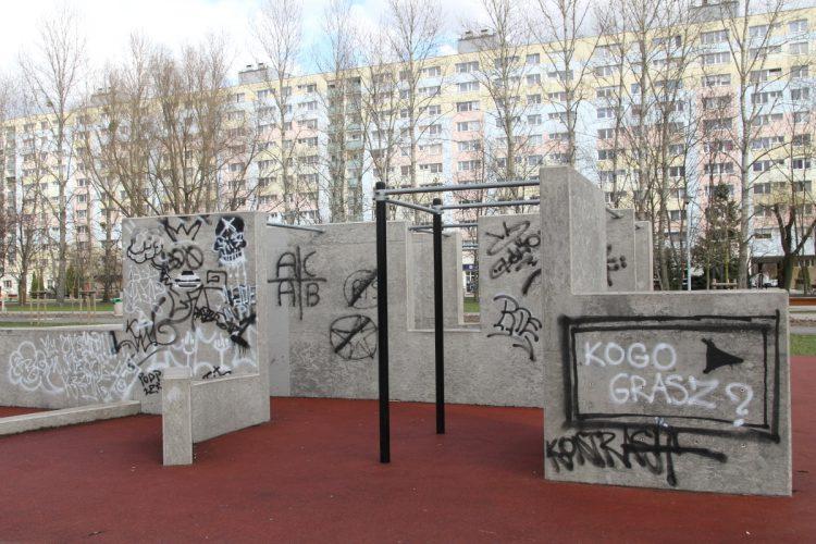 Park Rataje siłownia kalistenika