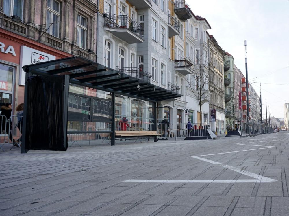 Poznań Święty Marcin przystanek Ratajczaka