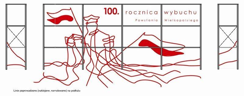 Przystanek Folwarczna MPK Poznań odnowa zdewastowanej wiaty