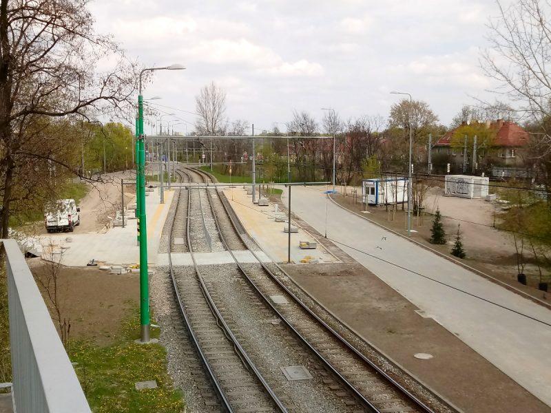 Poznań Most Teatralny PST przebudowa nowe perony