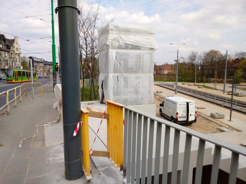 Poznań Most Teatralny PST przebudowa nowa winda