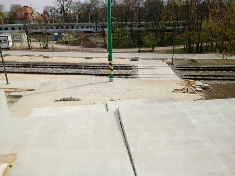 Poznań Most Teatralny PST przebudowa schody