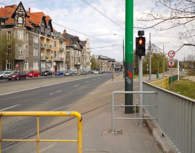 Poznań Most Teatralny PST przebudowa dojście piesze