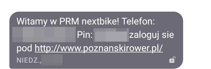 Poznański Rower Miejski bezpieczeństwo hasła do konta