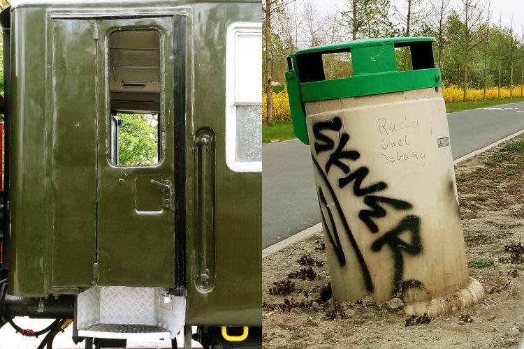 Poznań, Park Rataje: kolejne dewastacje i zniszczenie zabytkowego pociągu