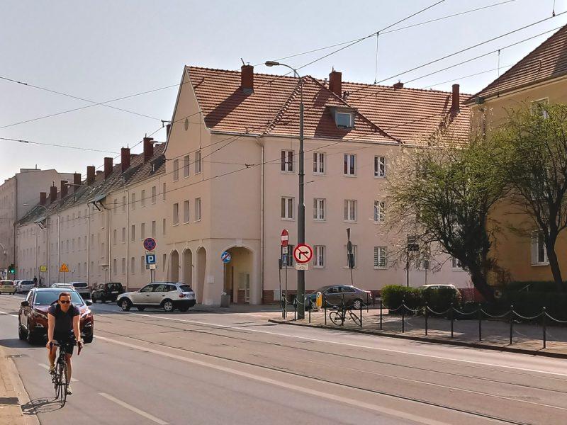 Poznań renowacja Dąbrowskiego 104-114 Weststadt
