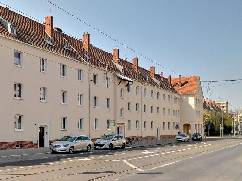 Poznań Jeżyce Dąbrowskiego 104-114 odnowa