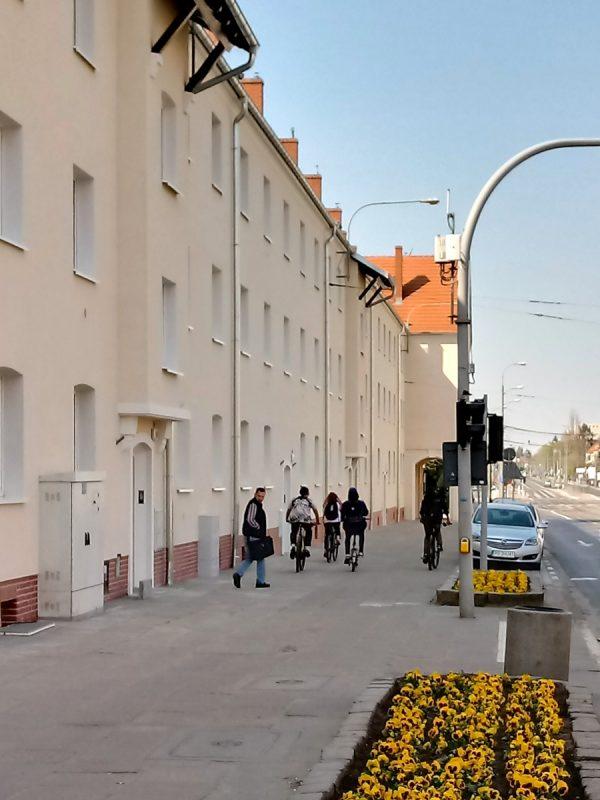 Poznań Weststadt Posen Jeżyce zrealizowany budynek Dąbrowskiego