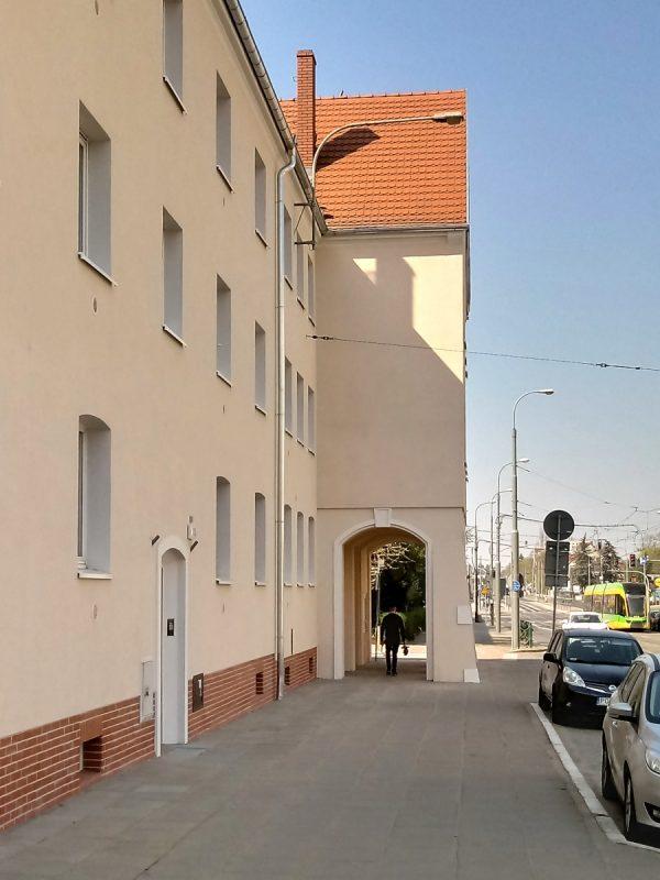Poznań Dąbrowskiego 104-114 Weststadt