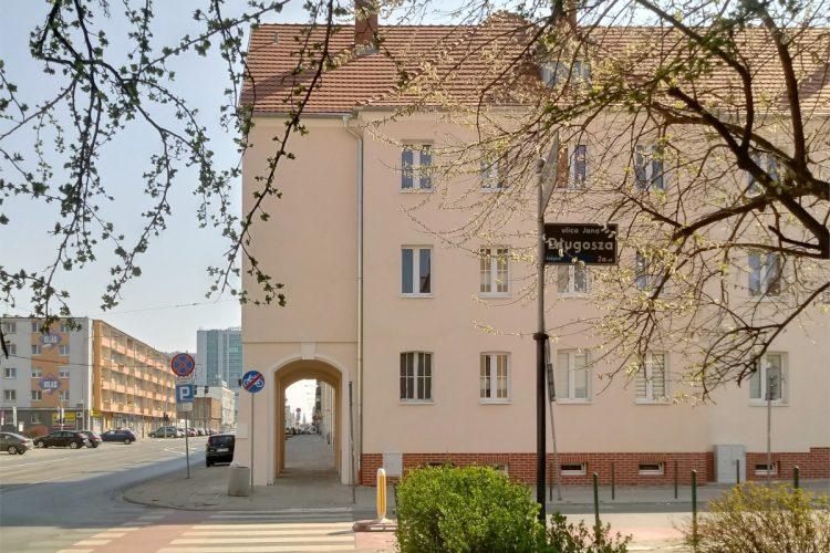 Poznań Weststadt Posen Jeżyce widok na Rynek Jeżycki