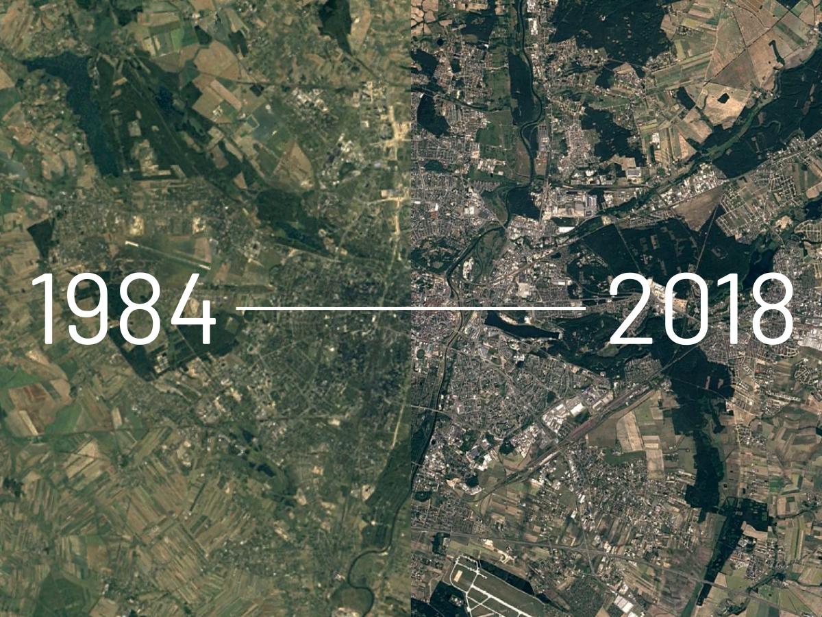 Poznań 1984-2018: zobacz, jak zmieniło się miasto