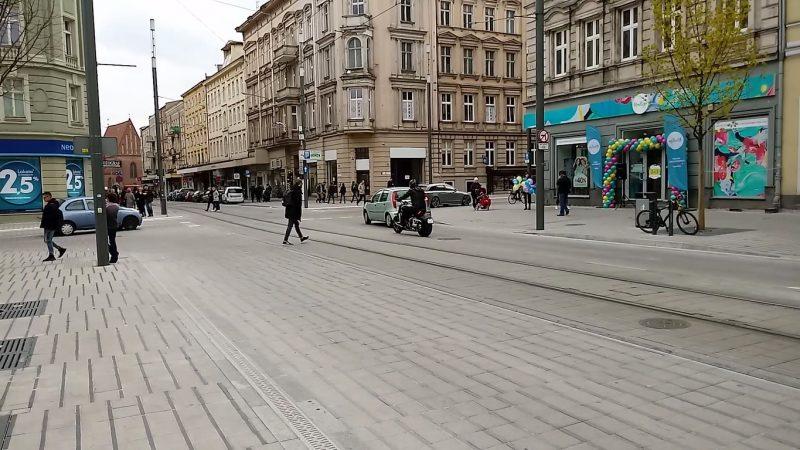 Poznań Święty Marcin strefa zamieszkania niebezpieczeństwo