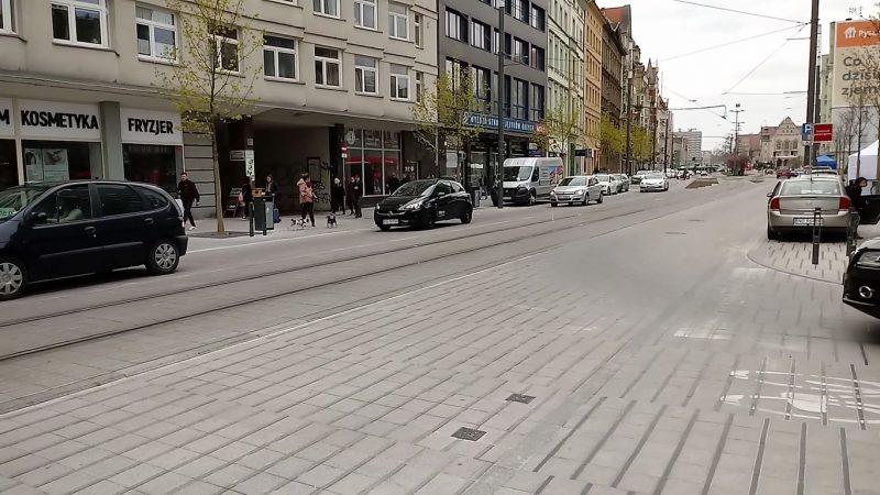 Poznań Święty Marcin strefa zamieszkania niebezpieczeństwo strefa zamieszkania