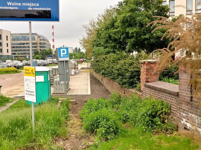 Poznań parkowanie parking buforowy Chwaliszewo Warta