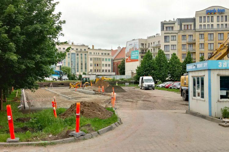 PArkingi w Poznaniu: powiększenie na Chwaliszewie