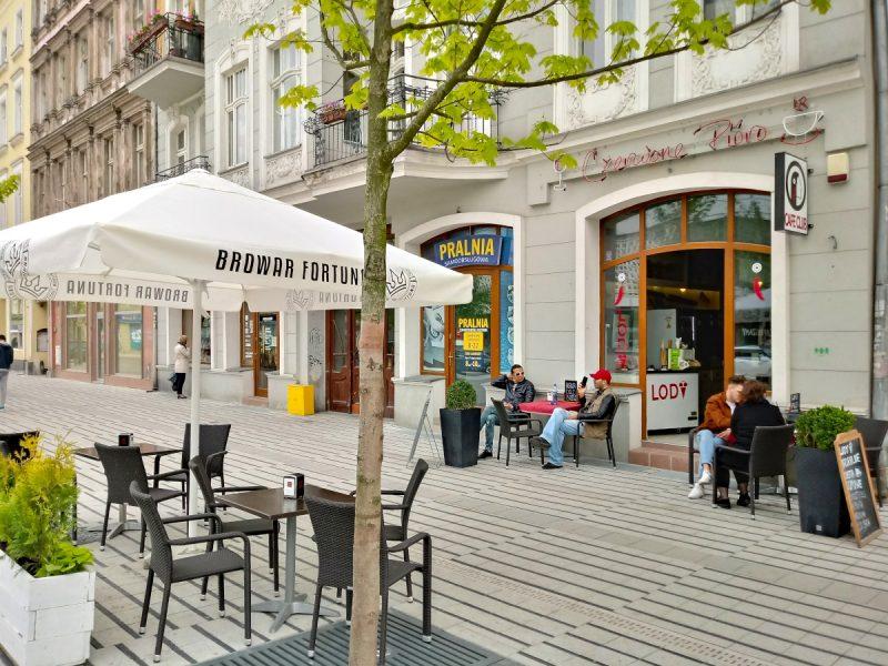 Kawiarnia Czerwone Pióro przy ul. Święty Marcin