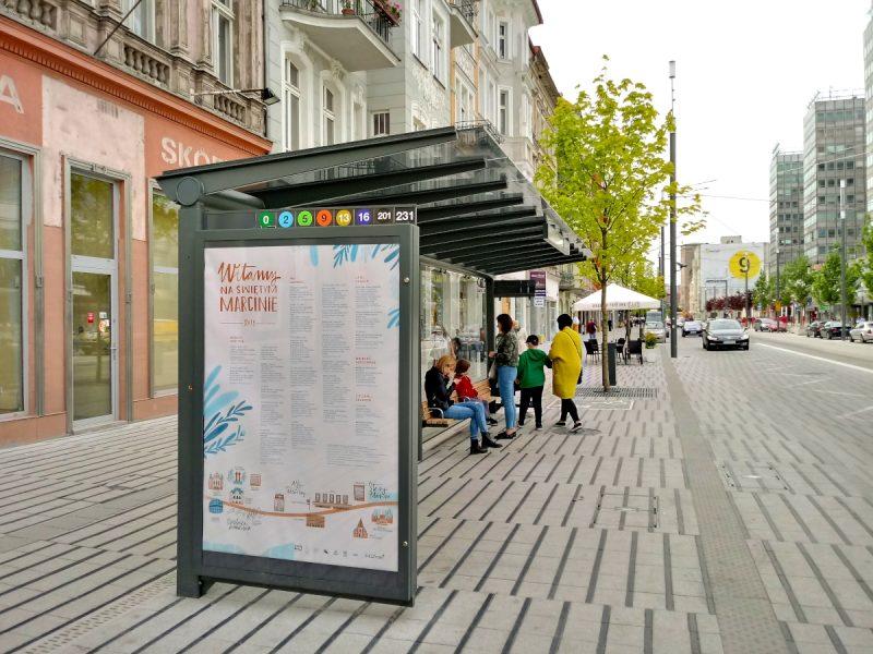 przystanek Ratajczaka - Projekt Centrum Poznań