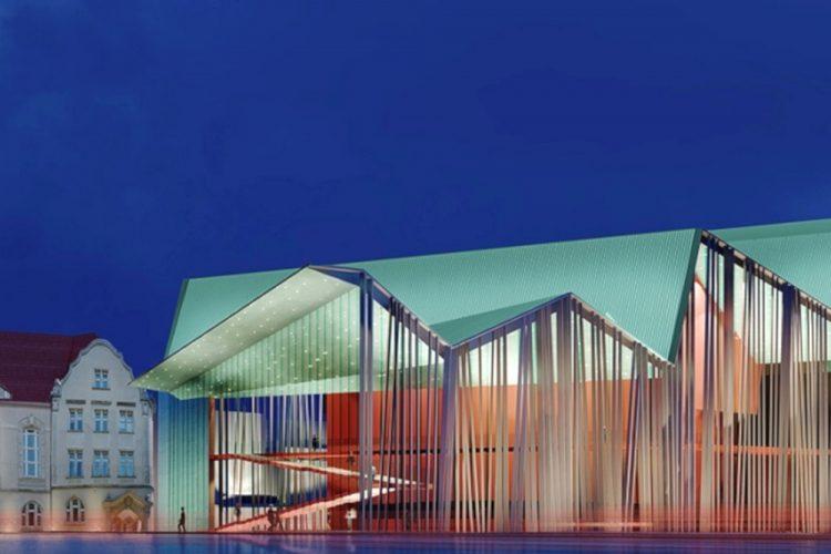Teatr Muzyczny w Poznaniu - nowa siedziba, architektura