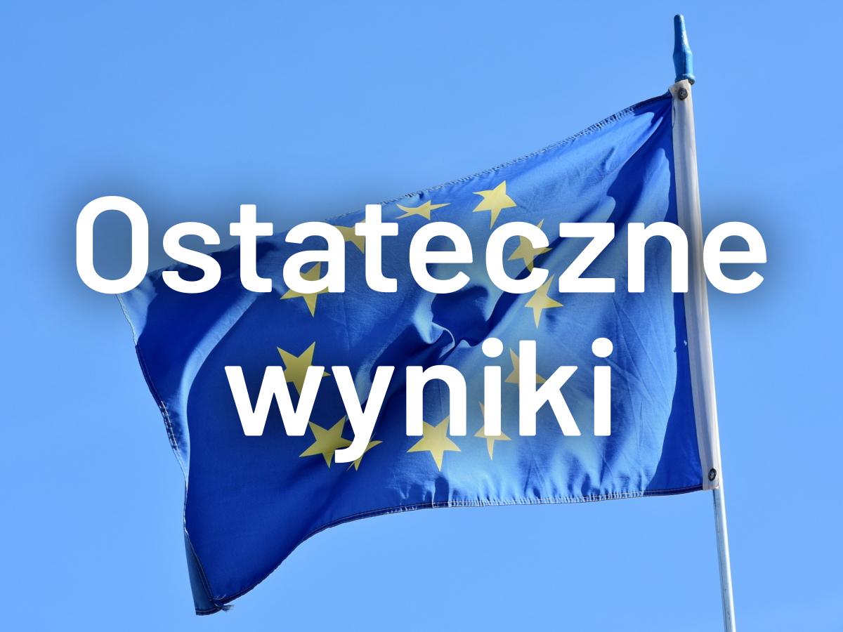 Sprawdź ostateczne wyniki eurowyborów. Kto będzie reprezentował Wielkopolskę w Brukseli?