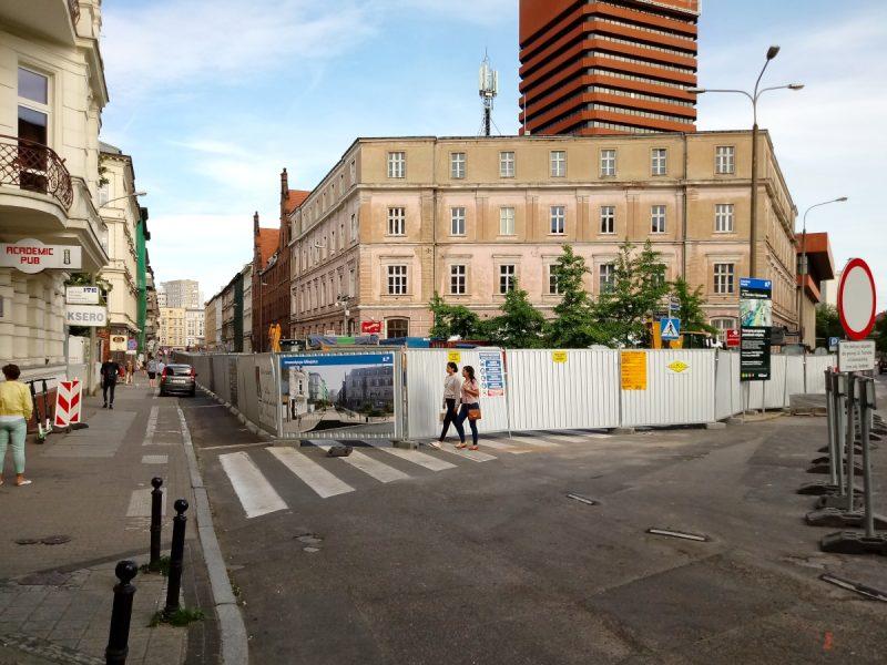 Taczaka Poznań przebudowa ulica Kościuszki budowa
