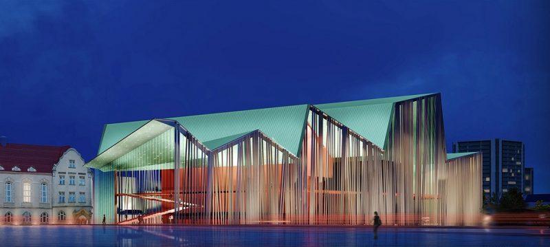 Poznań Atelier Loegler Architekci Teatr Muzyczny i konkurs na budowę