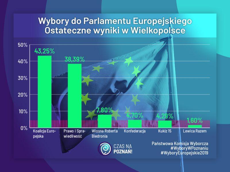 Wielkopolska: ostateczne wyniki eurowyborów, Kopacz, Krasnodębski, Miller, Spurek, Możdżanowska