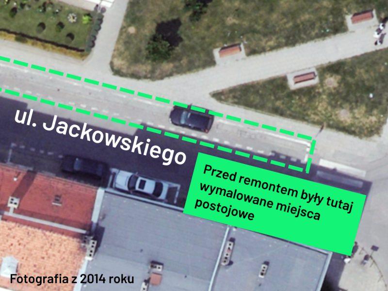 Jackowskiego przed remontem - 2014 rok, Poznań