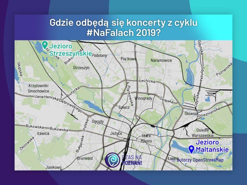 NaFalach 2019: gdzie odbędą się koncerty? Jezioro Maltańskie i Strzeszyńskie, Poznań