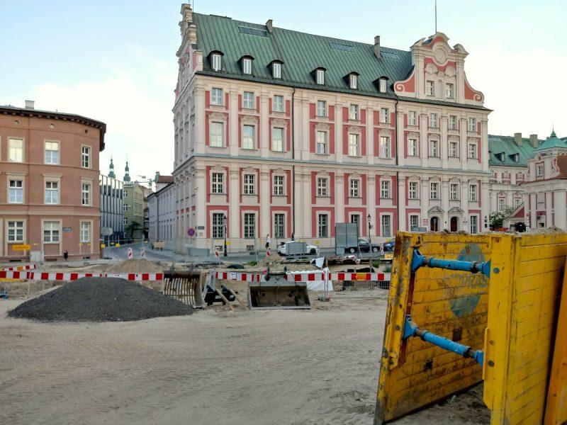 Widok z perspektywy ulicy Ślusarskiej - Stare Miasto