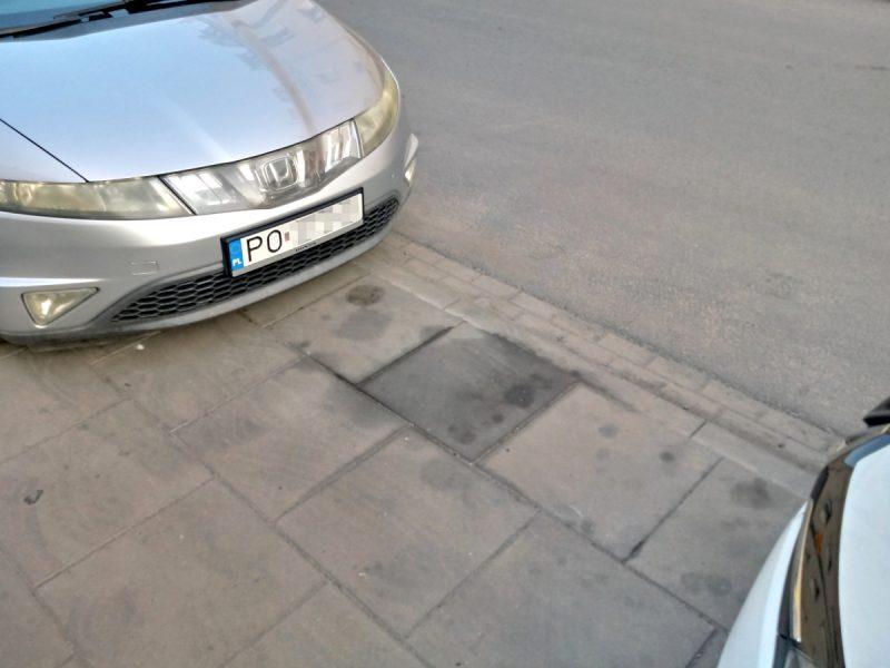 Poznań Jackowskiego parking miejsca postojowe opłąty SPP