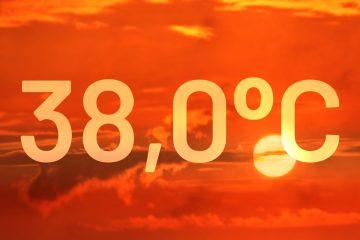 38,0 - rekord temperatury dla czerwca w Poznaniu