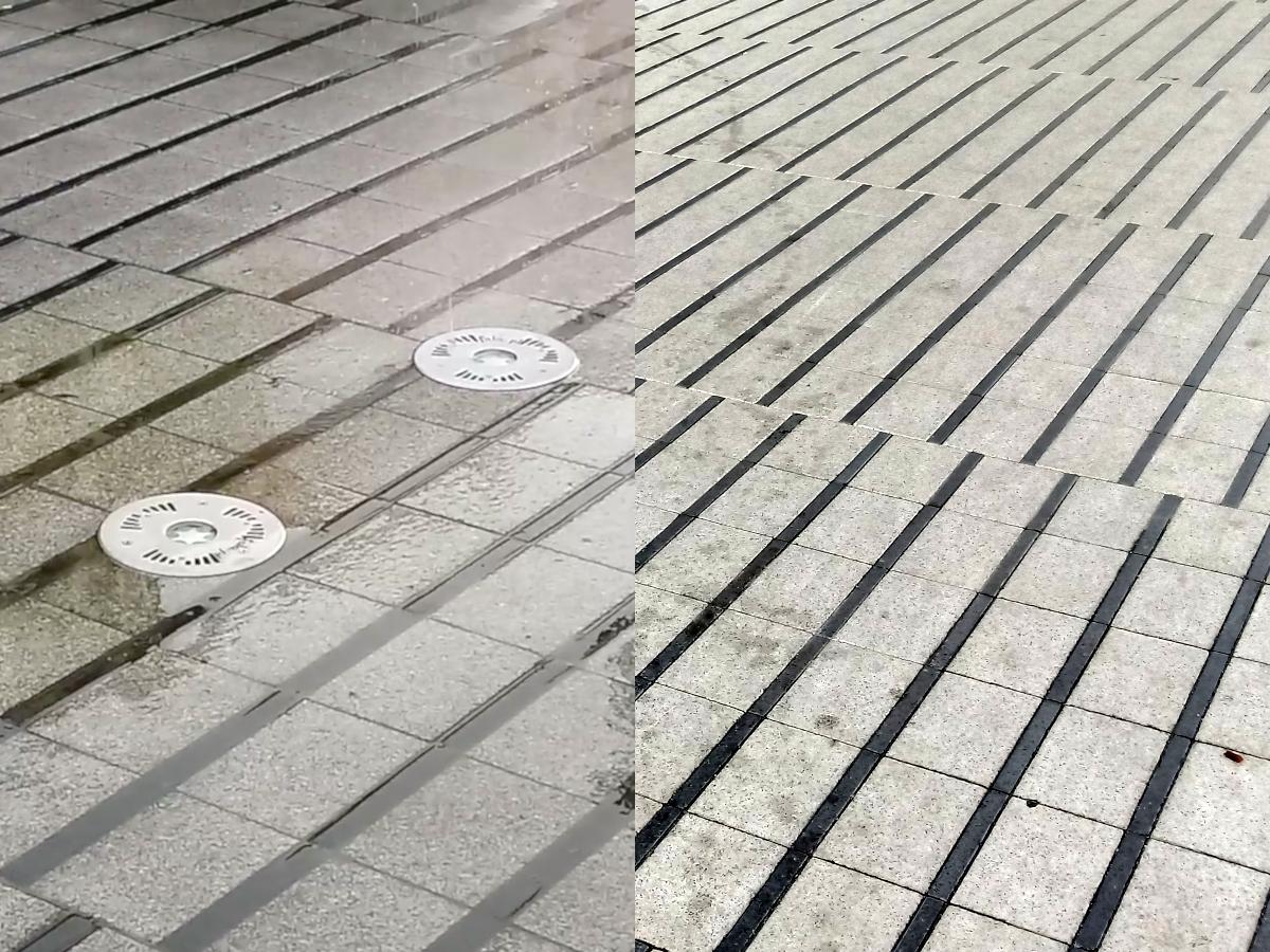 Poznań Święty Marcin: fuszerki i problemy - między innymi z fontannami
