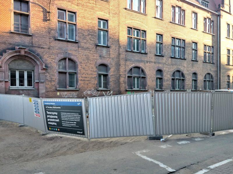 Poznań Dyrekcja Kolei i przebudowa ulicy Taczaka