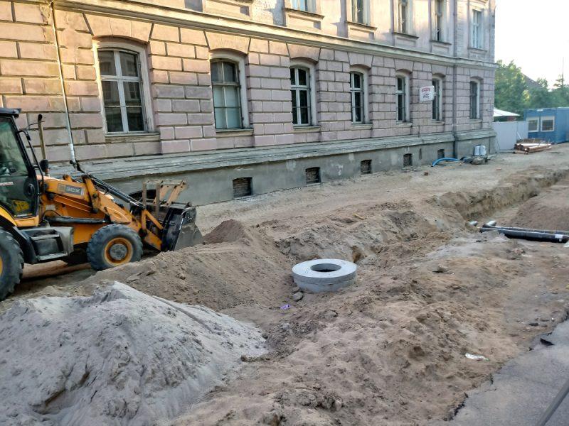 Kanalizacja na ulicy Taczaka - Projekt Centrum