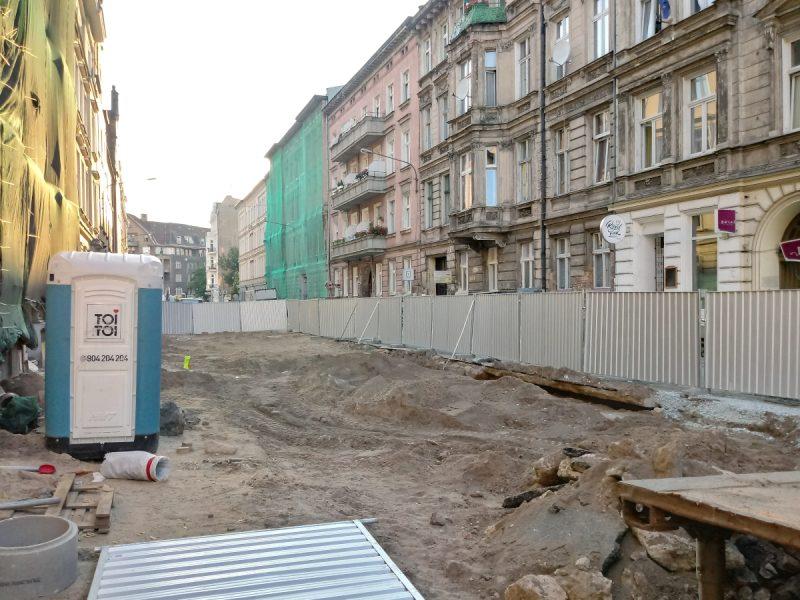 Rozrycie ulicy Taczaka - przebudowa centrum Poznania