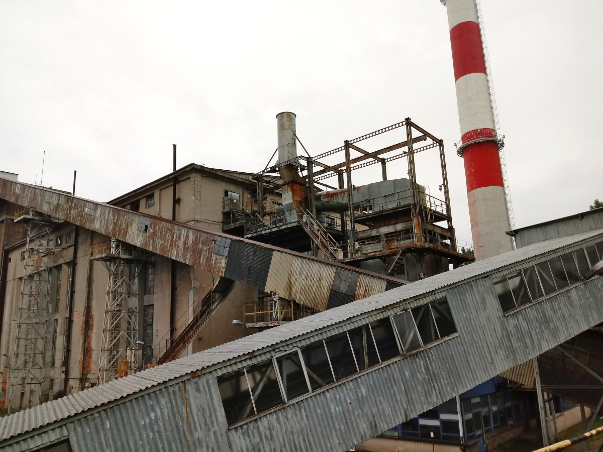 Elewator transportu węgla z placu węglowego Poznań urbex