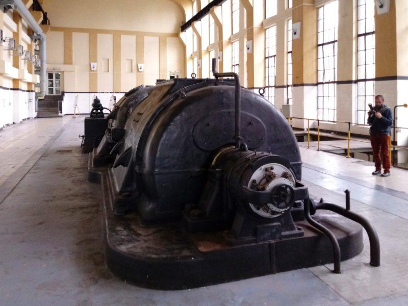 Turbogenerator elektrowni w Poznaniu