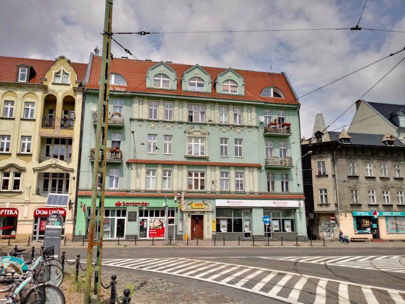 Poznań Rynek Jeżycki zabudowa kamienice Plan na Poznań