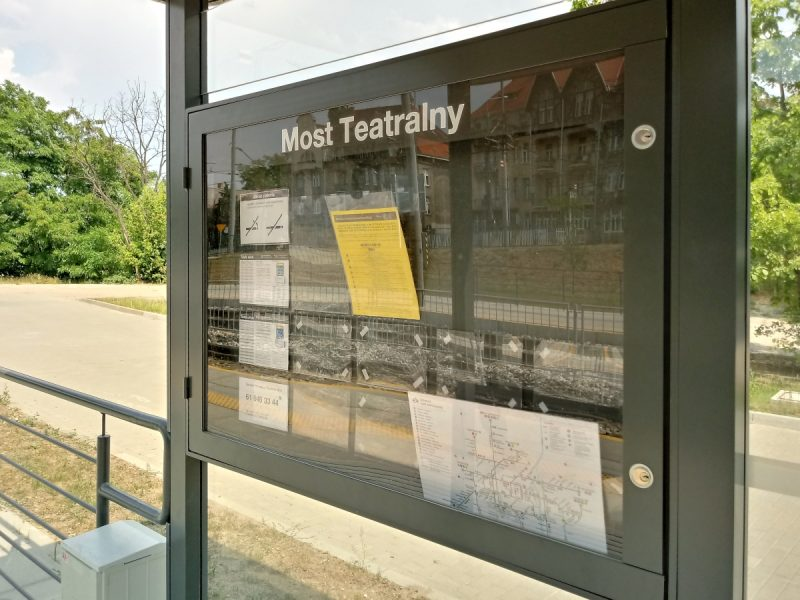 Informacja pasażerska ZTM Most Teatralny