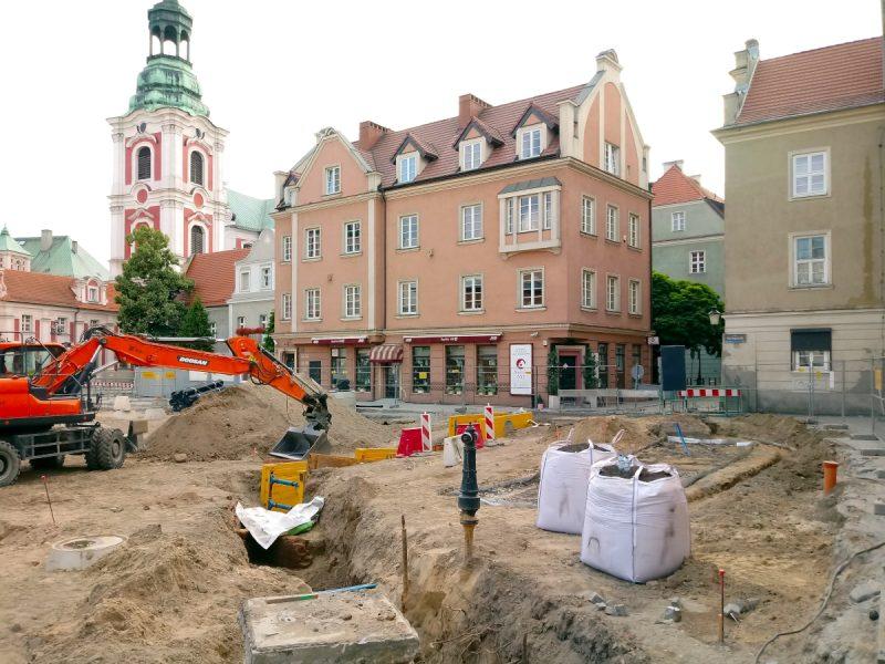 Budimex przebudowuje poznański Plac Kolegiacki