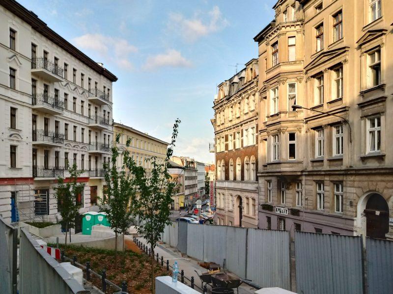 Skwer Constructa Plus - inwestycja w centrum Poznania