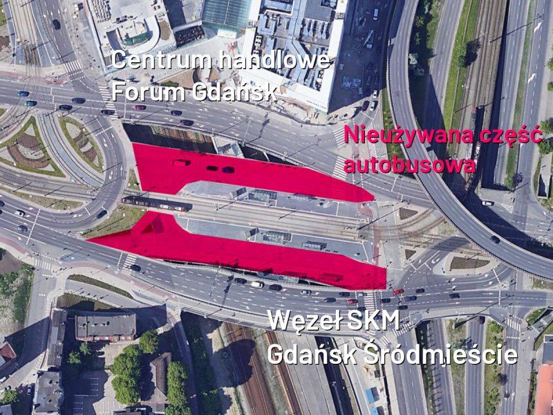 Gdańsk Poznań SKM Gdańsk Śródmieście autobusy