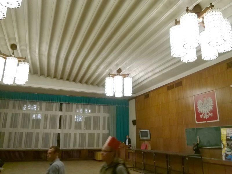 Sala obrad i aula Wydziału Historii UAM w Poznaniu