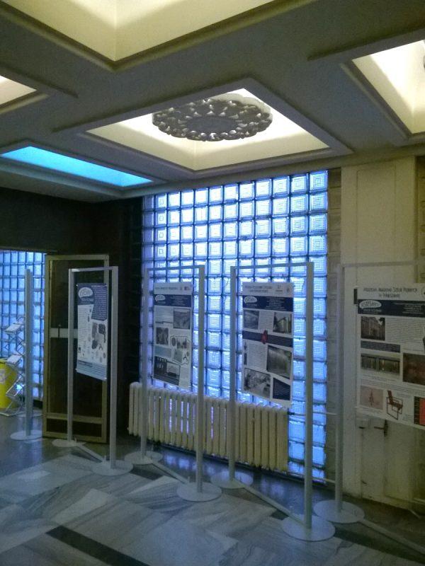 Wnętrze Collegium Martineum - pozostałości po KW PZPR