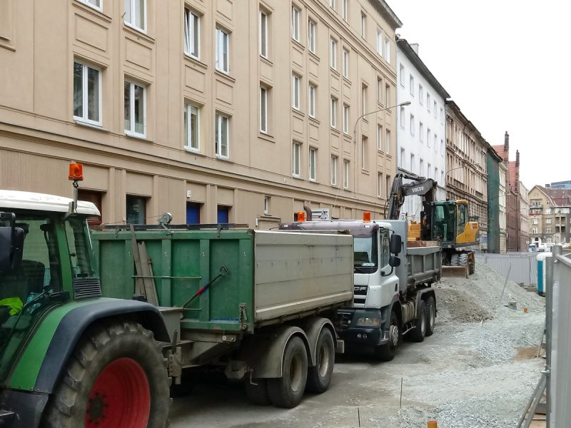 Projekt Centrum: odnowa ulicy Taczaka - lipcowa fotorelacja