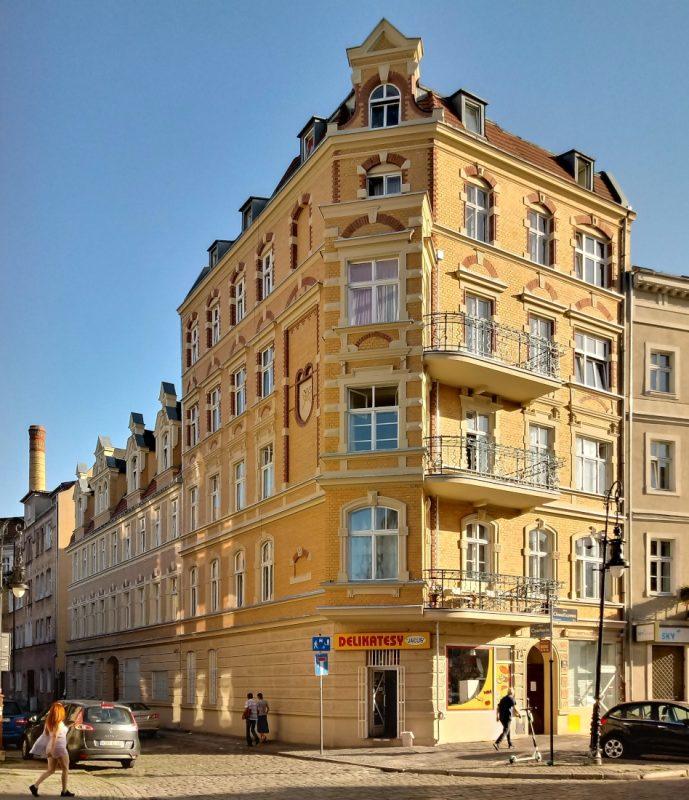 Kamienica przy ulicy Chwaliszewo 70 już po remoncie - Poznań, inwestycje mieszkaniowe