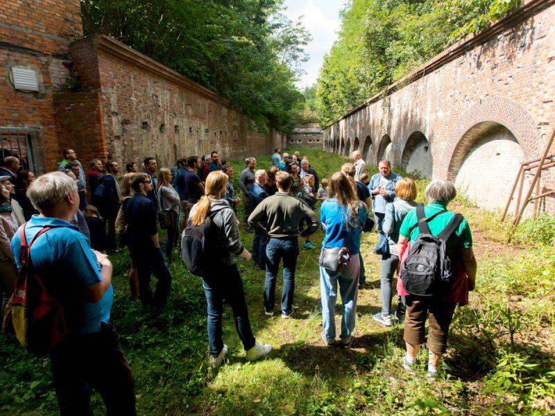 Dni Twierdzy Poznań: fort VII. Fot. Adam Ciereszki