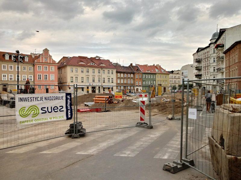 Poznań Urząd Miasta remont Placu Kolegiackiego