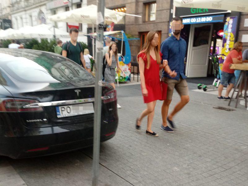 Półwiejska parkowanie Stare Miasto - zakaz ruchu